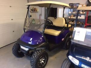 2012 Club Car Precedent Golf Cart 48V Electric Purple