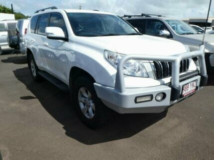2013 Toyota Landcruiser Prado KDJ150R GXL Glacier White 5 Speed Sports Automatic Wagon Atherton Tablelands Preview