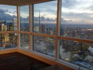 Aura condos for rent. Large 2 bed & 2 +den units over 1200 sqft