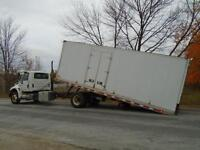 2007 International 4400 Tilt & Load Roll Off with Winch