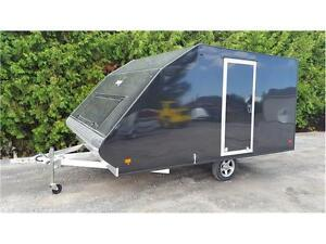 2017 MISSION CROSSOVER  12'  HYBRID SNOWMOBILE TRAILER