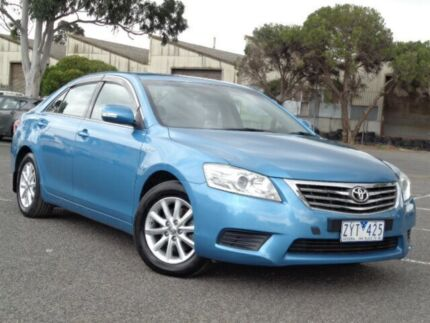 2011 Toyota Aurion GSV40R 09 Upgrade AT-X Blue 6 Speed Auto Sequential Sedan Maidstone Maribyrnong Area Preview