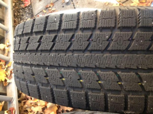 FORD ESCAPE WINTER TIRES AND RIMS