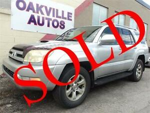 2004 Toyota 4Runner SR5 V6 SROOF FULL DEALER SERVICE SAFETY INCL