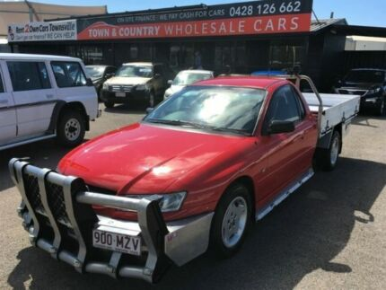 2005 Holden One Tonner Extended CAB Red Manual Cab Chassis Vincent Townsville City Preview