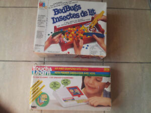 Electronic Games- Bed Bugs & Touch and Learn