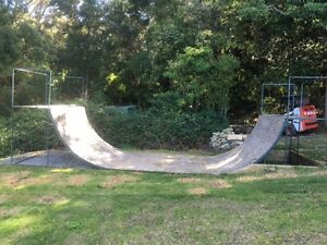 Half Pipe Woonona Wollongong Area Preview