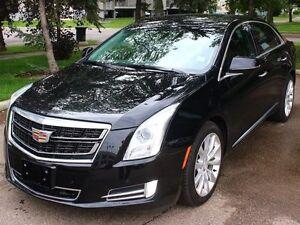 2016 Cadillac XTS AWD BLACK ON BLACK NAVIGATION SUNROOF LOW KM F