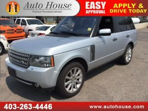 2010 RANGE ROVER HSE SUPERCHARGED DVD SCREENS NAVIGATION BCAMERA