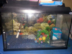 fish tank complete with all accessory