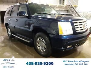 ***2004 CADILLAC ESCALADE***CUIR/TOIT/AWD/7 PASS./IMPECCABLE