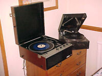 RECORDS and RECORD PLAYERS WANTED - LP's - Singles - Most Kinds + Old Record Players Also Wanted