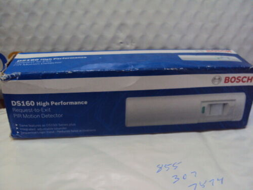 Bosch DS160 High Performance Request-to-Exit Passive Infrared Detector V3.00 NEW
