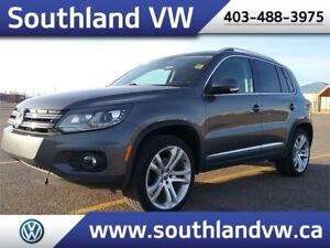 2012 Volkswagen Tiguan Highline **LEATHER-NAV-SUNROOF**