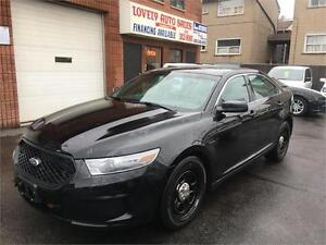 2013 Ford Sedan Police Interceptor ALL WHEEL DRIVE