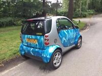 2003 Smart City Coupe 1,0 litre 3dr semi-automatic