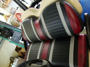 banc de couleur voiturette de golf precedent