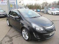 Vauxhall Corsa SRI CDTI 3d 128 BHP low road tax (black) 2013
