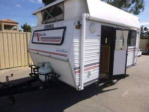 COROMAL 12' POP TOP , COMPACT,FUEL MISER  SINGLE BEDS, AWN, CHEAP Maddington Gosnells Area Preview