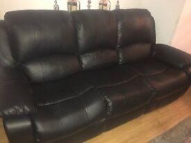 3+2 seat manual recliners sofa