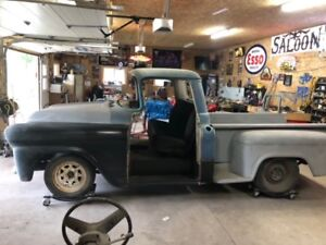 Hot Rod 1958 Chevy project truck