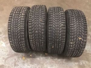 4x snow / winter tires on rims, Ford Escape and others 225/70R16