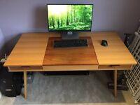 Stroller Desk in Walnut