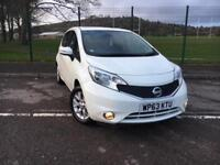 NISSAN NOTE 1.2 ACENTA 2013 63 PLATE *ONLY 33100 MILES, NEW MOT*
