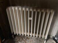 Reconditioned School Cast Iron Radiator Old School Radiators for sale - VERY HEAVY