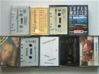 A-Z 50s 60s 70s 80s HITS JAZZ NISSAN EUROPCAR BALLADS BALLROOM FAVOURITES PRERECORDED CASSETTE TAPES