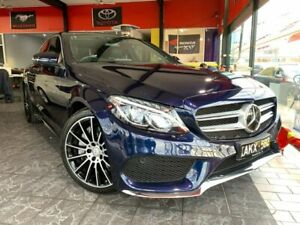 2016 Mercedes-Benz C-Class W205 807MY C250 7G-TRONIC + Blue 7 Speed Sports Automatic Sedan