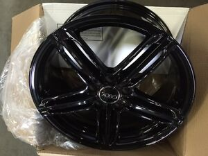 "New arrival Audi Gloss Black 18"" wheels City of Toronto Toronto (GTA) Preview"