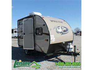 2016 Forest River Cherokee Wolf Pup 13CJ Travel Trailer