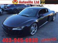 2008 Audi R8 QUATTRO AWD  NAVIGATION 6 PEED MANUAL