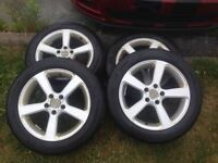 "17"" RTX Alloy Wheels with Michelin Primacy Tires size 215/55R17"