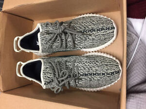 Selling Yeezy 350 Boost Turtle Doves - Size 9 Price Negotiable London Ontario image 1