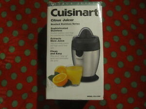 Brand new in box Cuisinart Citrus Juicer