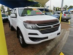 2016 Holden Colorado RG MY17 LS Pickup Crew Cab White 6 Speed Sports Automatic Utility Minchinbury Blacktown Area Preview