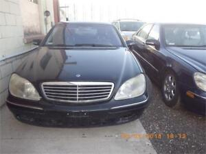 2000 Mercedes S430 Leather/Sunroof/Auto