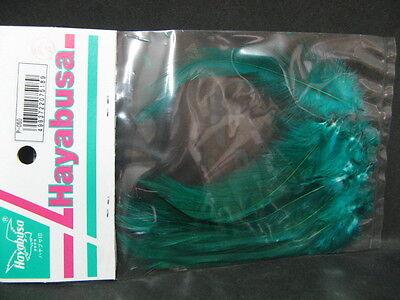 37445) Hayabusa Bird feather fly Material P-050 Green