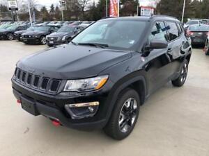 2017 Jeep Compass Trailhawk Black on Black