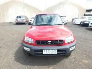 1999 Toyota RAV4 SXA10R Cruiser (4x4) Red 4 Speed Automatic 4x4 Cabriolet Point Cook Wyndham Area Preview