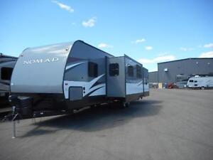 TAKE OFF CAMPING IN THIS 2017 NOMAD 308BHS
