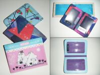 Travel Card Wallets in Various Designs