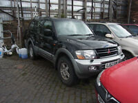Mitsubishi Shogun Diesel Spares or repair PX Swap Anything considered