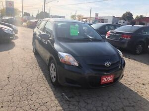 2008 Toyota Yaris Sedan $5695 Certified