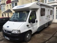 Lunar Champ / Fiat Ducato Fixed Bed Motorhome 2005 55