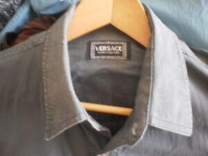Men's VERSACE JEANS COUTURE Hunter Green Short-Sleeved Shirt