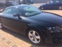 Audi TT, Black, TFSI, 2 litre turbo, low mileage, Lady Owner
