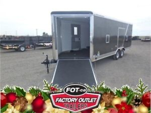 -*MUST SEE!*- 24' Drive-On/Drive-Off Toy Hauler by Forest River!